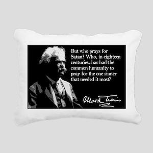 150MarkTwain Rectangular Canvas Pillow