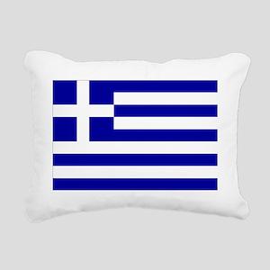 Greece Rectangular Canvas Pillow