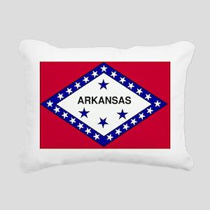 Arkansas Rectangular Canvas Pillow