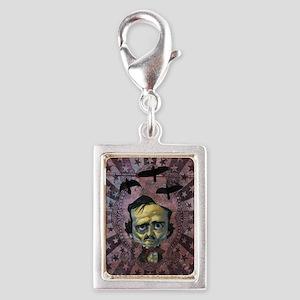 3poe10 Silver Portrait Charm