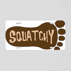 squatchy2hat Aluminum License Plate