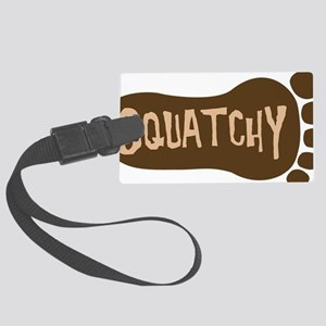 squatchy2hat Large Luggage Tag