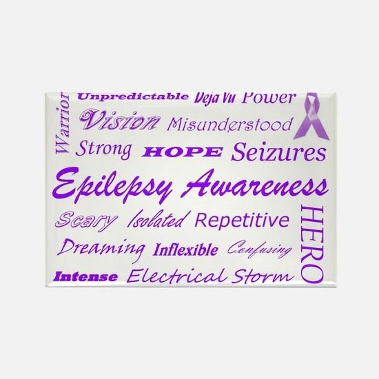 epilepsy.subwayart1 Rectangle Magnet