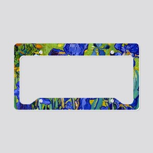 Clutch VG Irises89 License Plate Holder