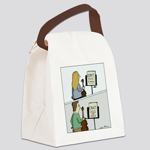Cant and Dont Studies Canvas Lunch Bag