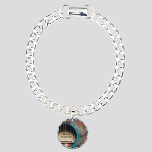AlvarezBlue Charm Bracelet, One Charm