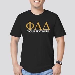 Phi Alpha Delta Person Men's Fitted T-Shirt (dark)