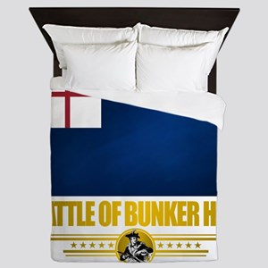 Bunker Hill (Flag 10)2 Queen Duvet