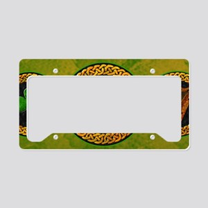EIRE-14x6_SMALL-FRAMED-print License Plate Holder