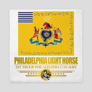 Philadelphia Light Horse (Flag 10)2 Queen Duvet