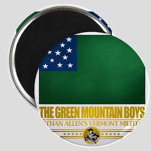 Green Mountain (Flag 10)2 Magnet