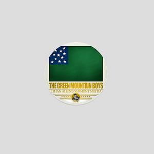 Green Mountain (Flag 10)2 Mini Button