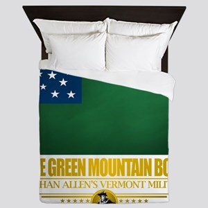 Green Mountain (Flag 10)2 Queen Duvet