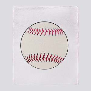 Kids Baseball Gifts for Dads Son Throw Blanket