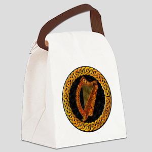 CELTIC-HARP Canvas Lunch Bag