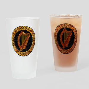 CELTIC-HARP Drinking Glass
