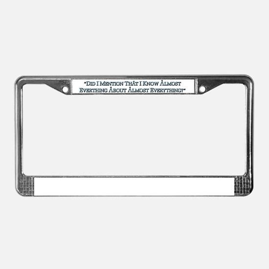 snark_full_back License Plate Frame
