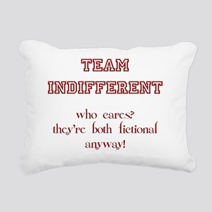 Team_Indifferent Rectangular Canvas Pillow