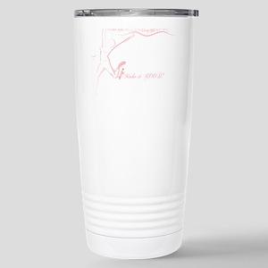 Cancer Runner Red Stainless Steel Travel Mug