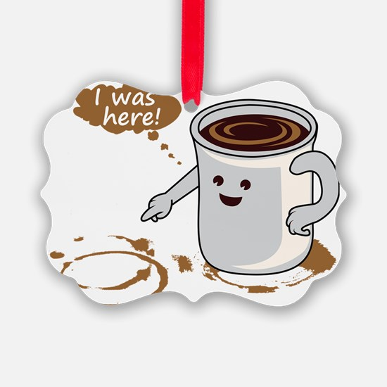 Coffee stain Ornament