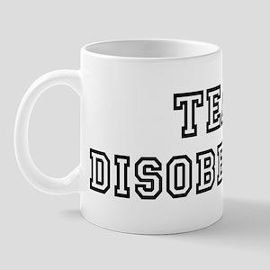 Team DISOBEDIENT Mug