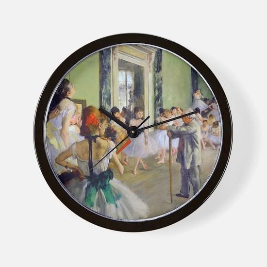 FF Degas DanceClass Wall Clock