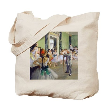 FF Degas DanceClass Tote Bag