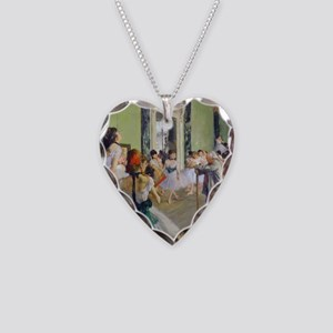 FF Degas DanceClass Necklace Heart Charm