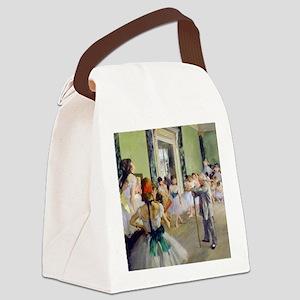 FF Degas DanceClass Canvas Lunch Bag