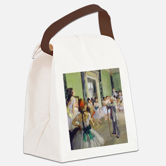 FF Degas DanceClass Canvas Lunch Bag