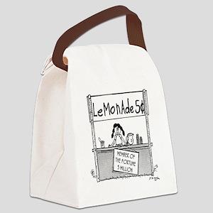 4202_business_cartoon Canvas Lunch Bag