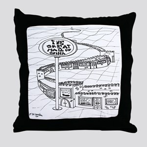 5528_China_cartoon Throw Pillow