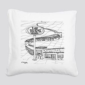 5528_China_cartoon Square Canvas Pillow