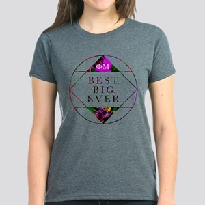 Phi Mu Best Big Women's Dark T-Shirt