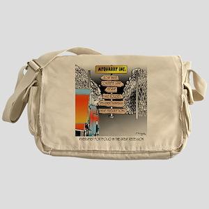 8480_quarry_cartoon Messenger Bag