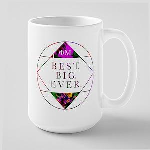 Phi Mu Best Big 15 oz Ceramic Large Mug