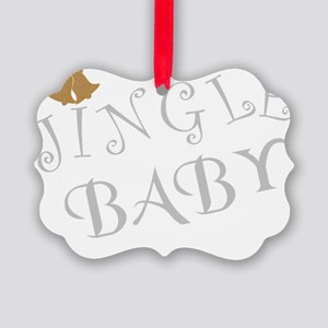 JingleBabyMaternity Picture Ornament