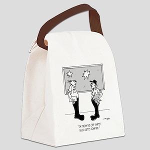 2408_window_cartoon Canvas Lunch Bag