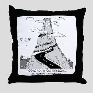 5735_store_cartoon Throw Pillow