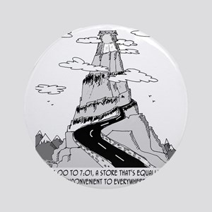 5735_store_cartoon Round Ornament