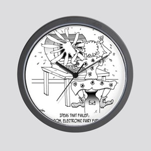 7785_milk_cartoon Wall Clock