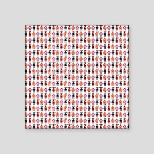 "4pillow1 Square Sticker 3"" x 3"""