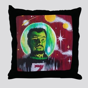spacemanz Throw Pillow