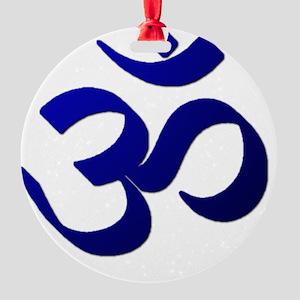 Ohm10 Round Ornament