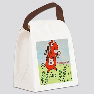 postal!2 Canvas Lunch Bag