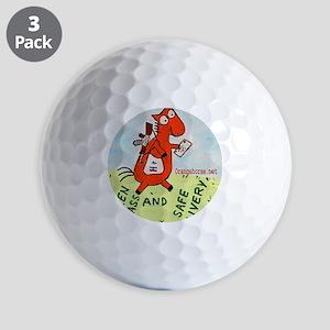 postal!2 Golf Balls