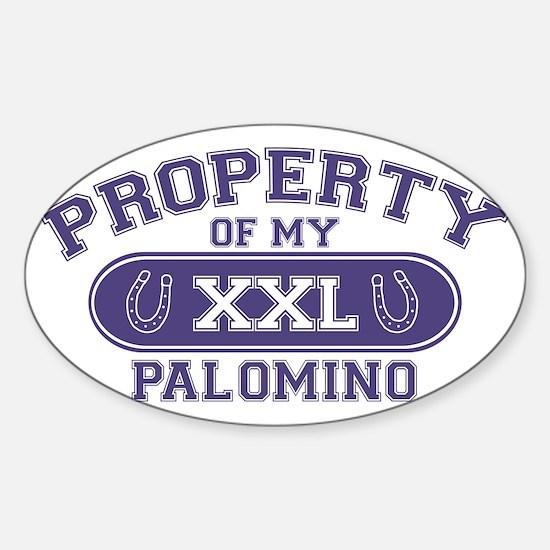 palominoproperty Sticker (Oval)