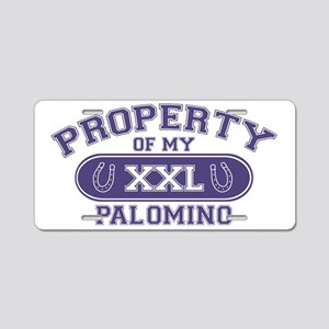 palominoproperty Aluminum License Plate