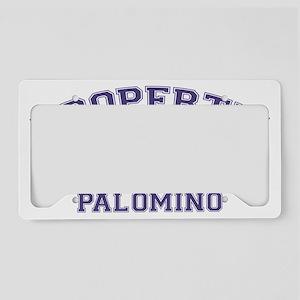 palominoproperty License Plate Holder