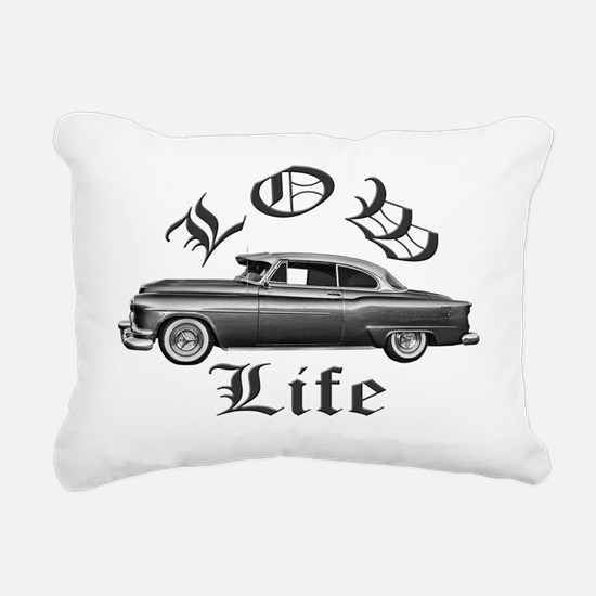 low life Rectangular Canvas Pillow